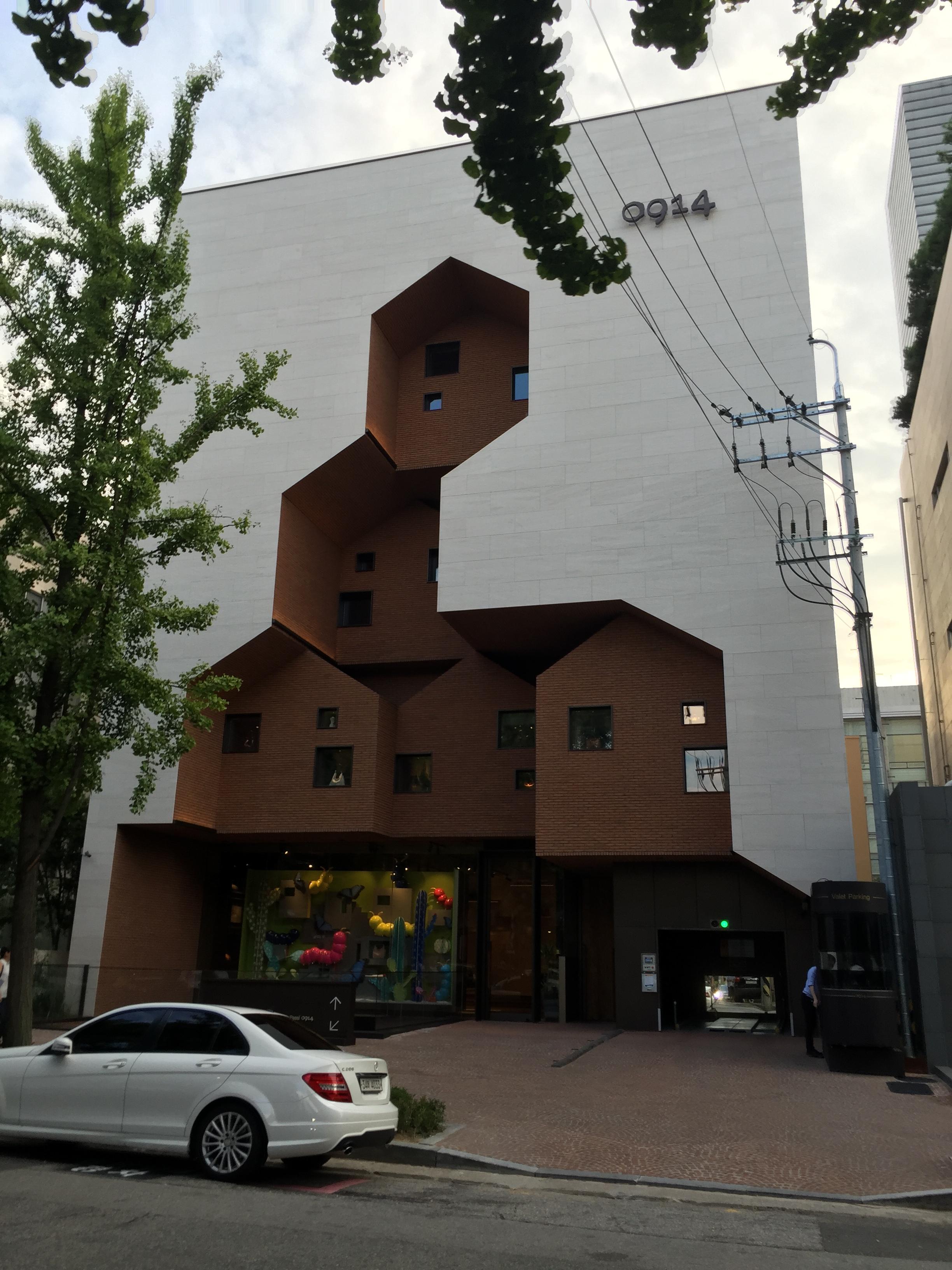 建築設計  韓国