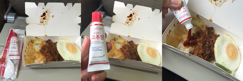 ANA韓国機内食