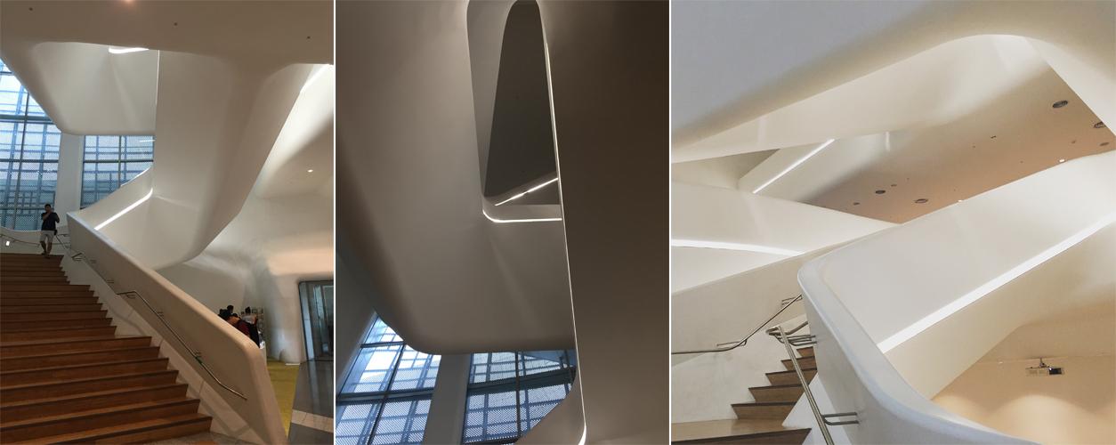 ザハ 階段のデザイン